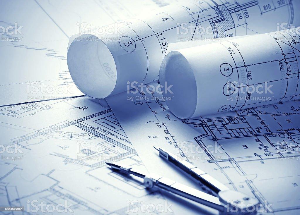 Część projektu architektonicznego – zdjęcie