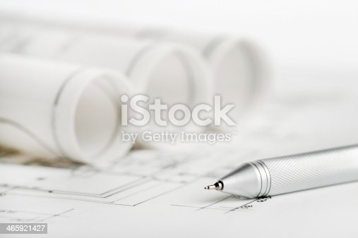istock Part of architectural project. 465921427
