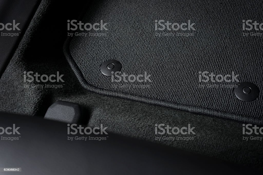 Part of car mat stock photo