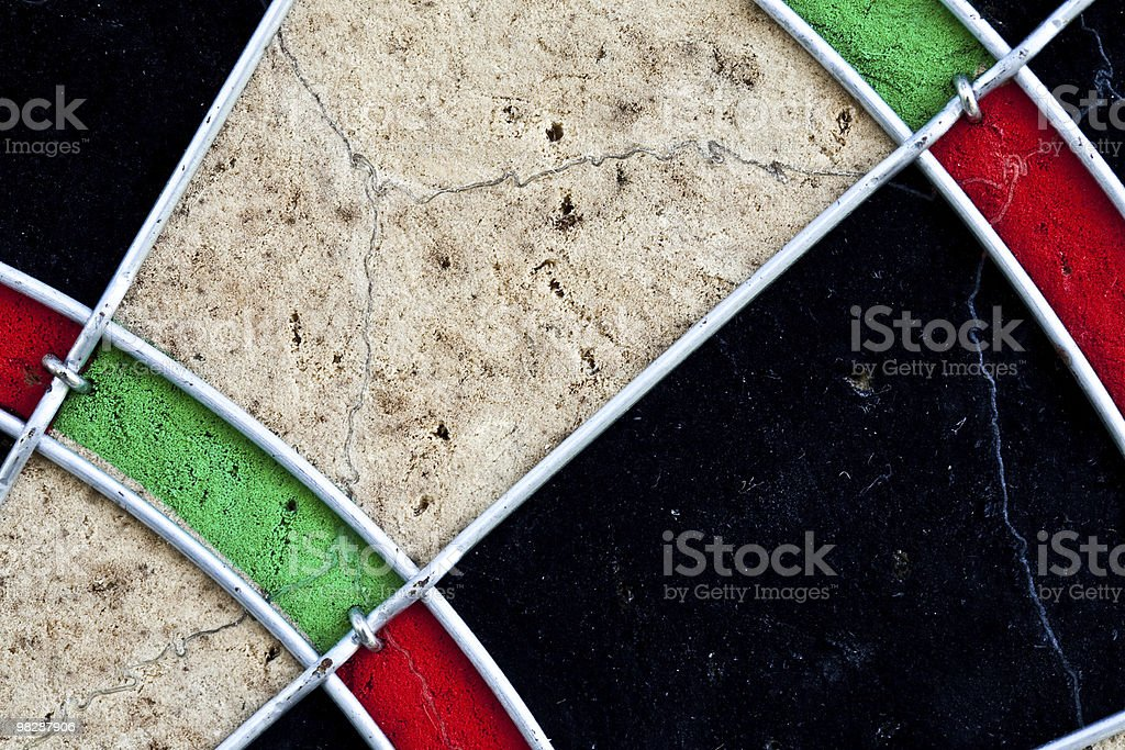 Part of dartboard royalty-free stock photo