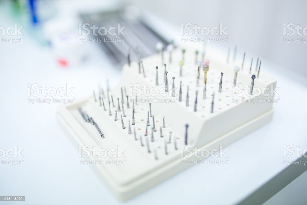 Part of Dental Driil stock photo