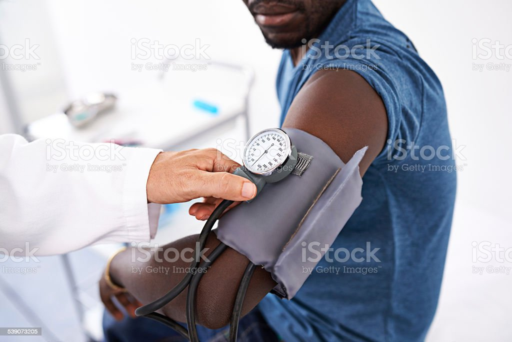 Part of every routine checkup stock photo