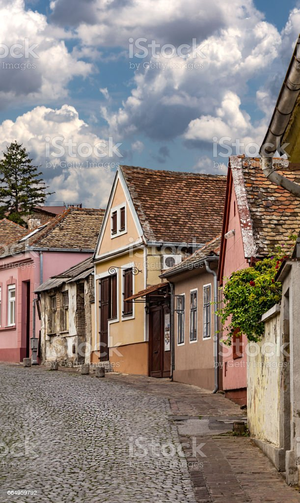 Part of Gardos, Zemun Belgrade stock photo