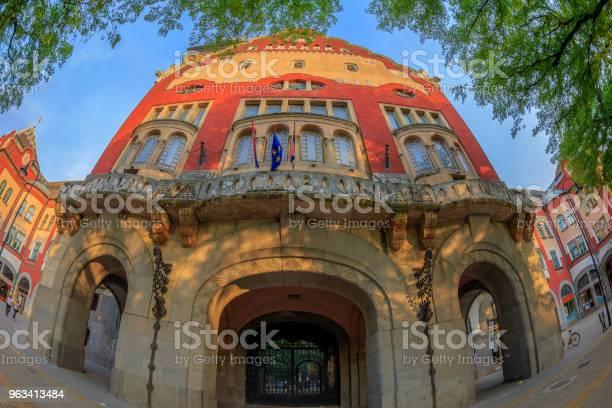 Część Zabytkowego Budynku Ratusza W Subotica Serbia - zdjęcia stockowe i więcej obrazów Architekt