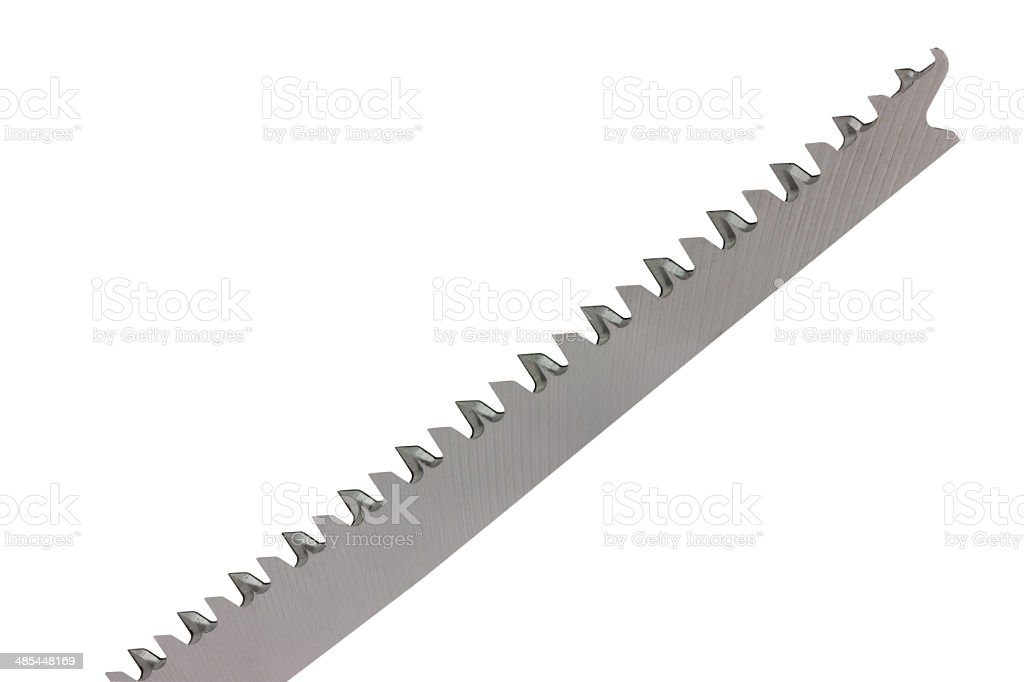 part of jigsaw blade 2 stock photo