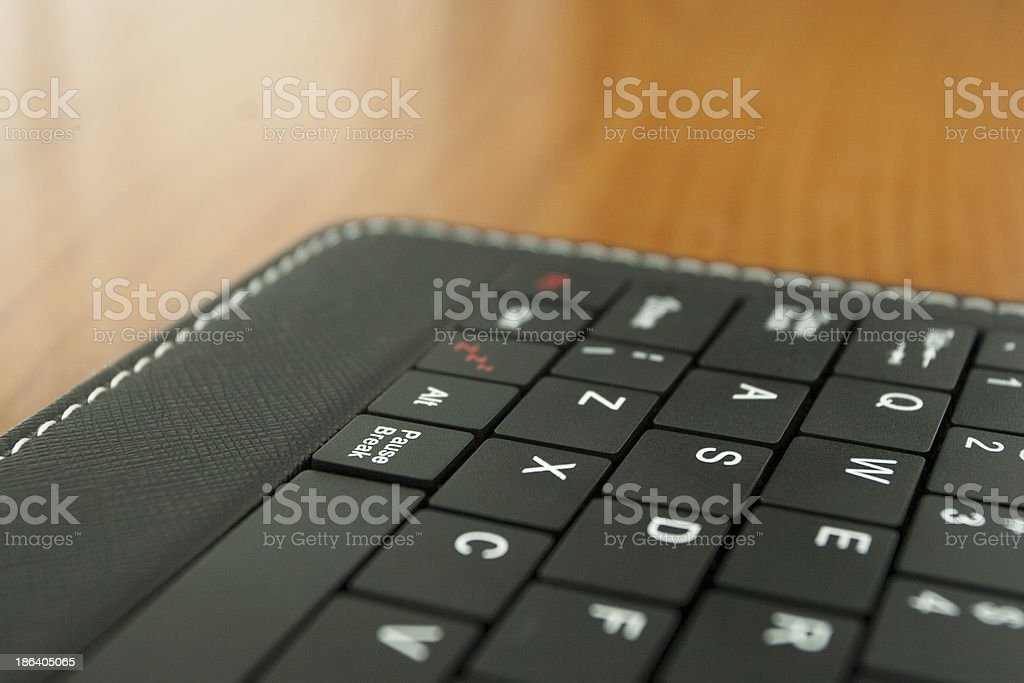 Part of Keyboard royalty-free stock photo