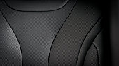 istock Part of  leather car seat details 860404020