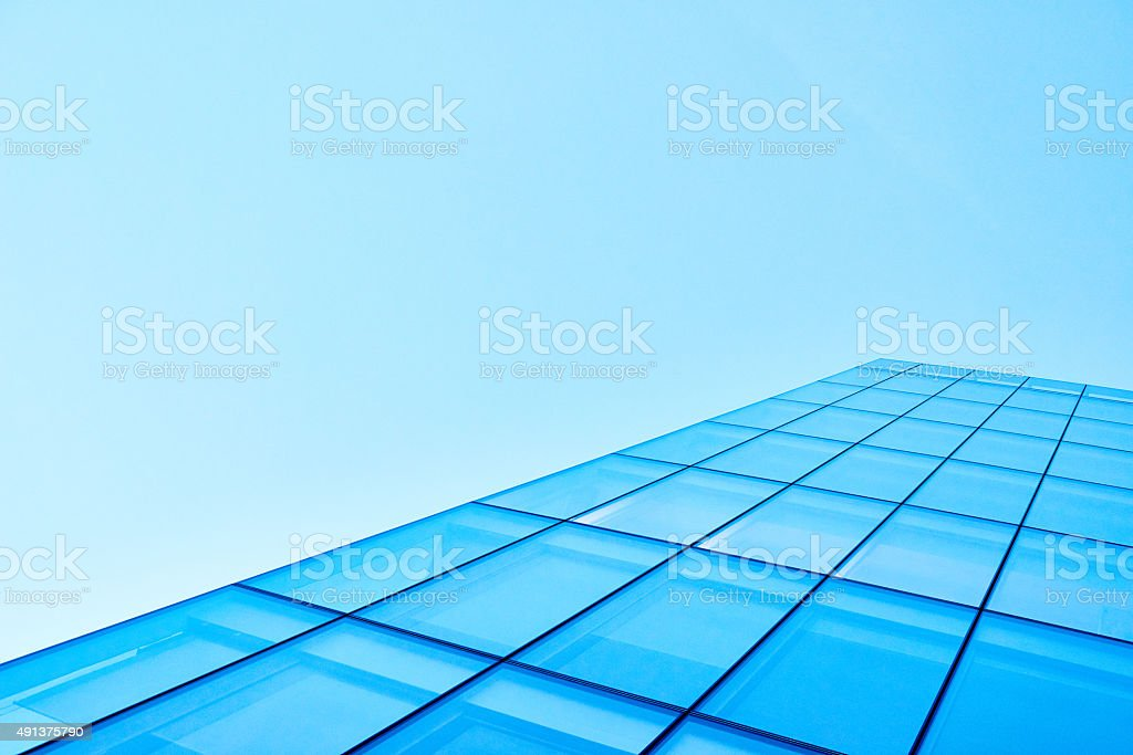 Part of modern building stock photo
