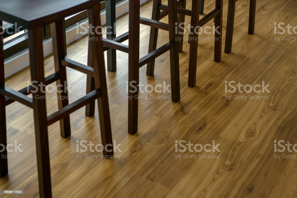 Image of: Part Of Modern Wooden Bar Stools Stock Photo Download Image Now Istock