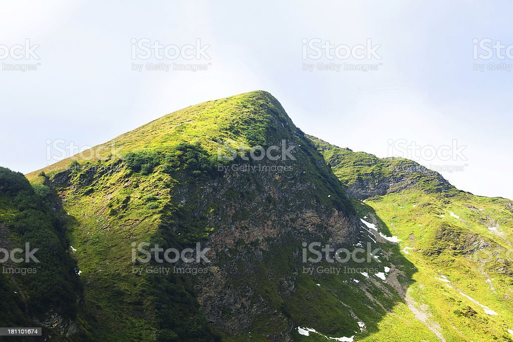 Part of mountain Fellhorn royalty-free stock photo