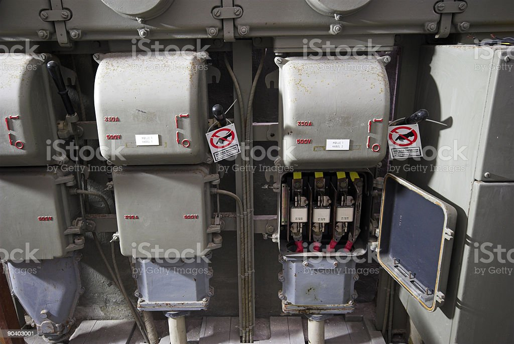 Part of power plant royalty-free stock photo