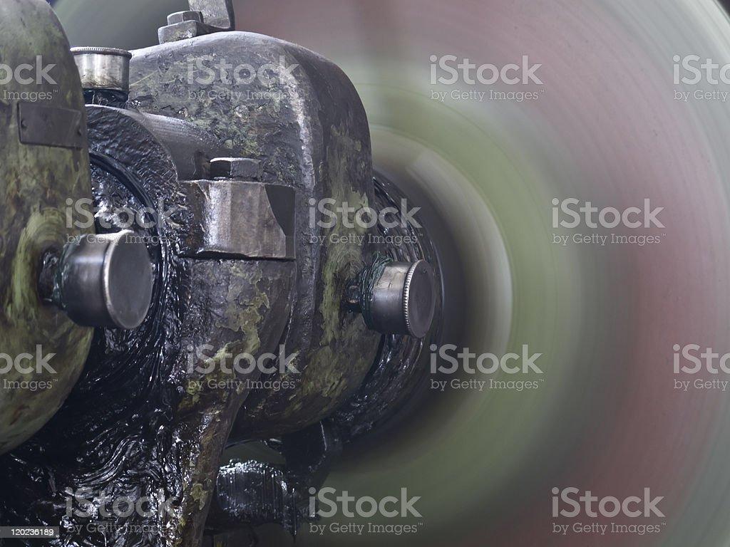 Part of Press Machine stock photo