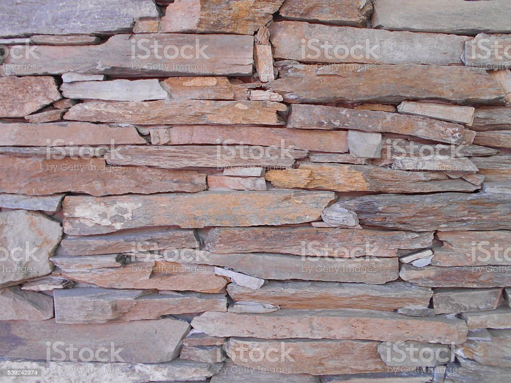 Part of stone wall royalty-free stock photo