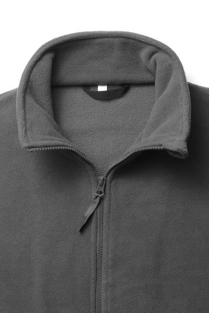 teil des sweatshirt fleece für mann - fleecepullover stock-fotos und bilder