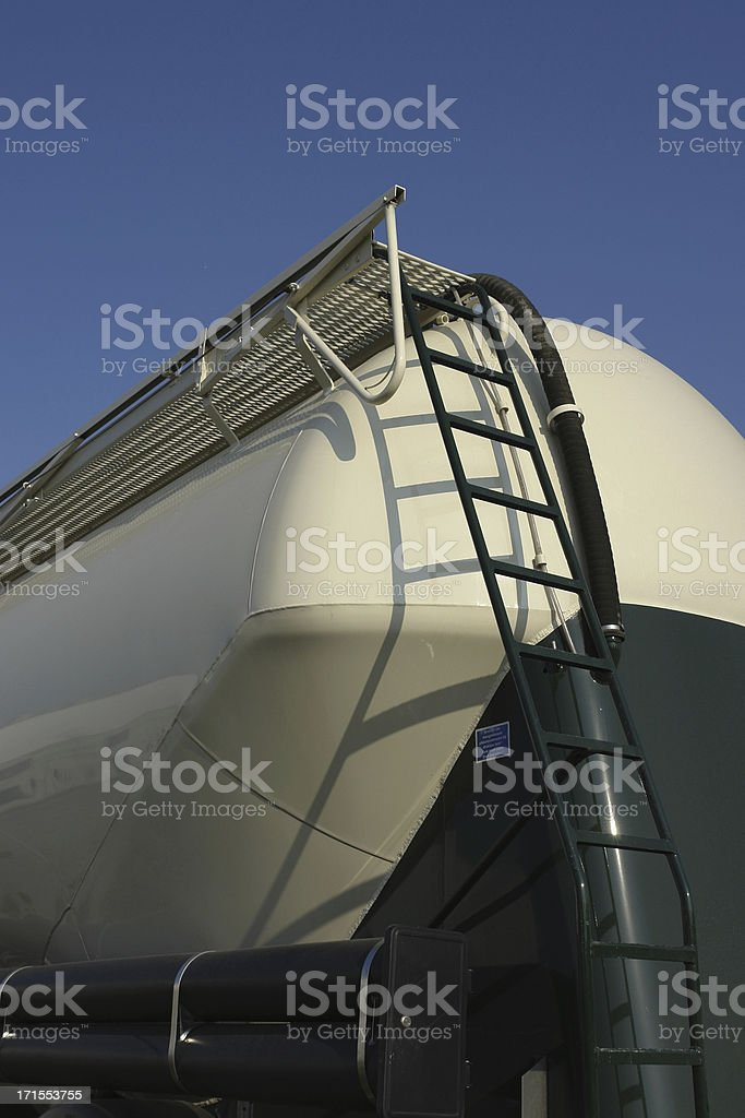Part of tanker truck royalty-free stock photo