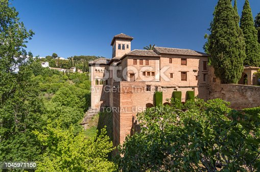 121178604 istock photo Part of the Alhambra, Granada, Spain 1045971150