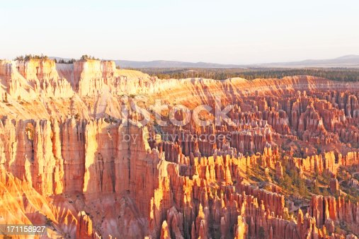 early morning view of Bryce Canyon amphitheatre