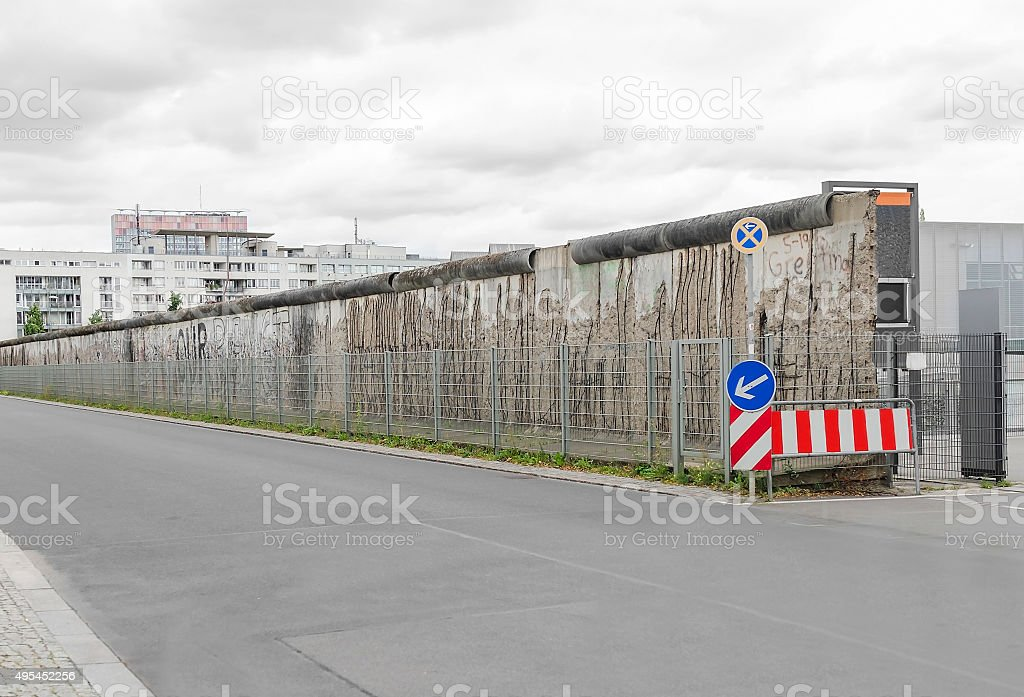 Teil der Berliner Mauer – Foto