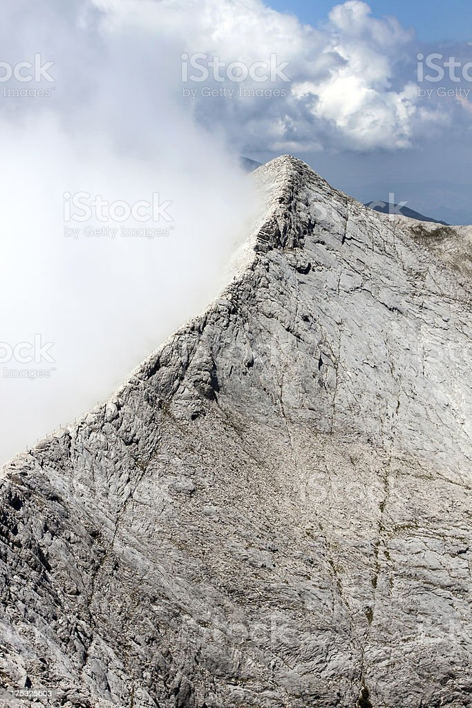 Part of the Koncheto Ridge royalty-free stock photo