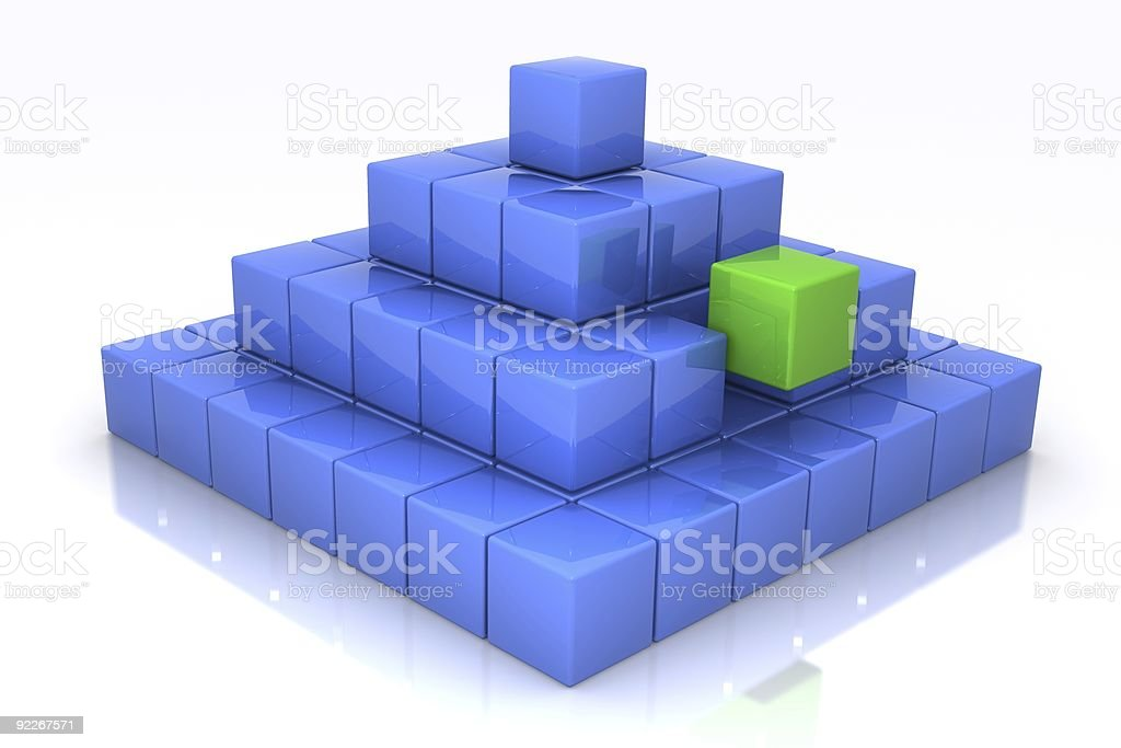 Part of the Solution royalty-free stock photo