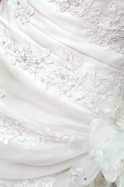 Teil des Hochzeits Kleid – Foto