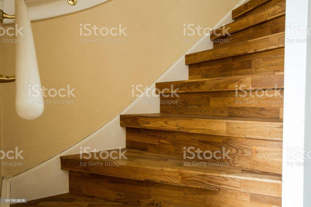 Bestandteil der Holztreppen, modernes Wohndesign hautnah – Foto