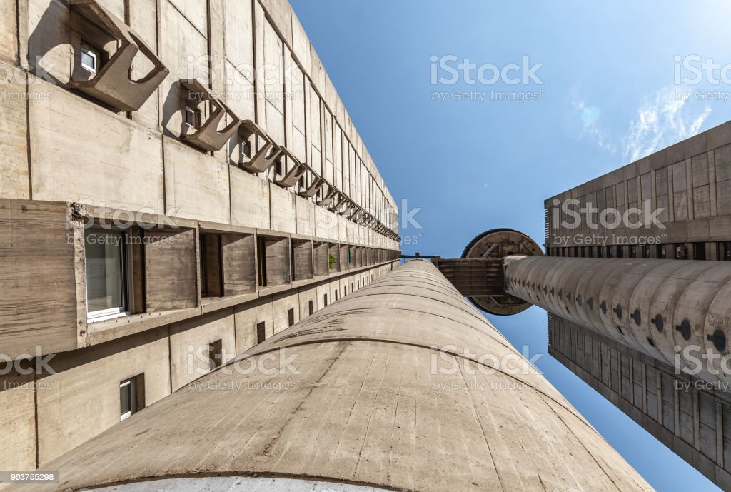Part of western city gate of Belgrade #1 stock photo