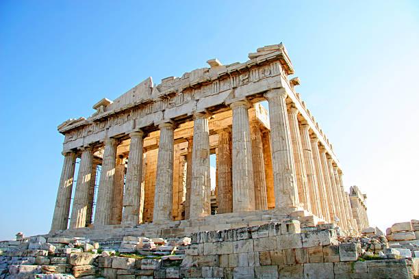 Parthenon, Acropolis, Athens, Greece stock photo