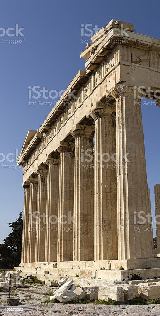 Parthenon, Acropolis, Athens royalty-free stock photo