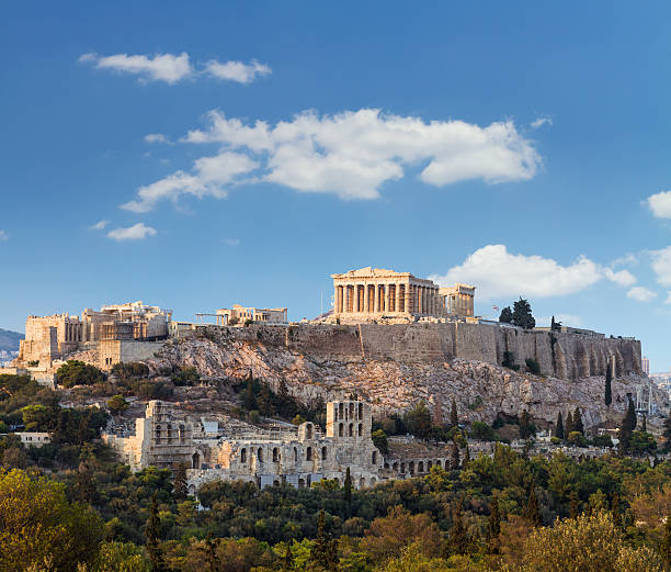 Parthenon, die Akropolis, Athen, Griechenland – Foto