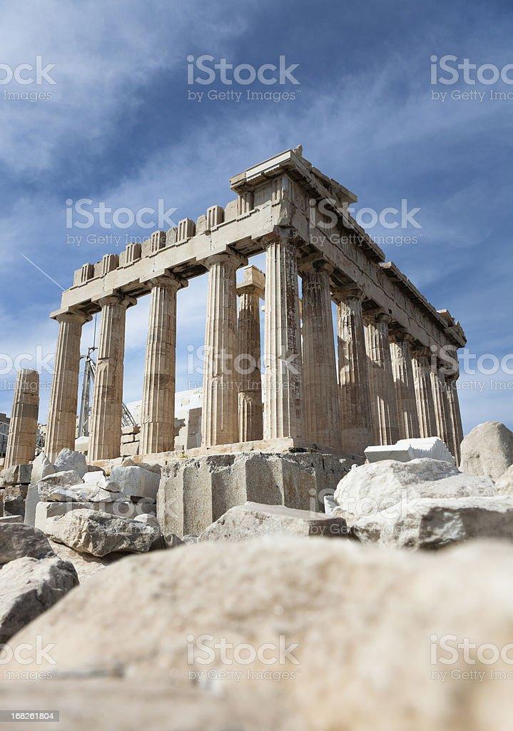 Parthenon at Acropolis, Athens stock photo