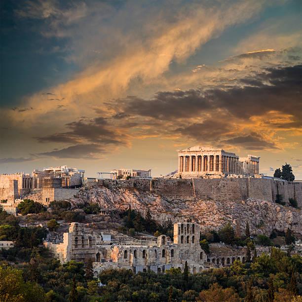 Parthenon, die Akropolis, Athen, Athen, Griechenland – Foto