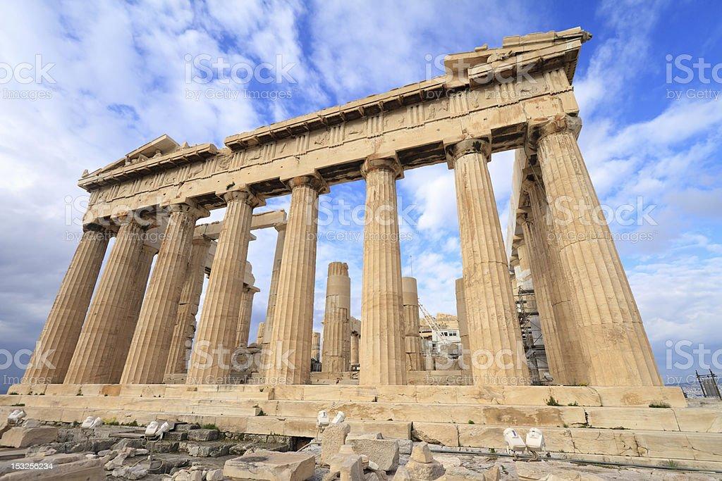 Parthenon, Athenian Acropolis, Greece royalty-free stock photo