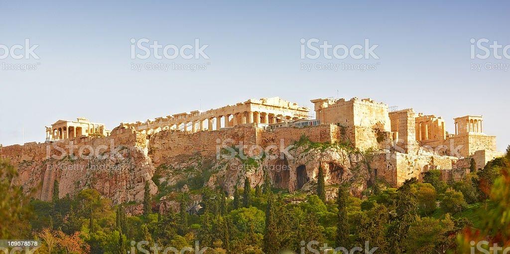 Parthenon, Athens Acropolis royalty-free stock photo