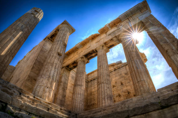 Parthenon - Athens, Greece stock photo