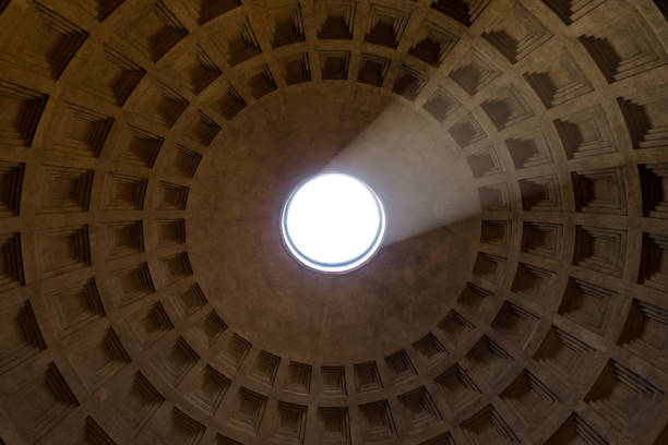 Parthenon Dome stock photo