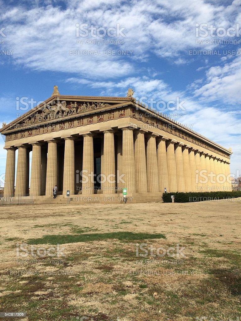 Parthenon in Nashville, Tennessee stock photo