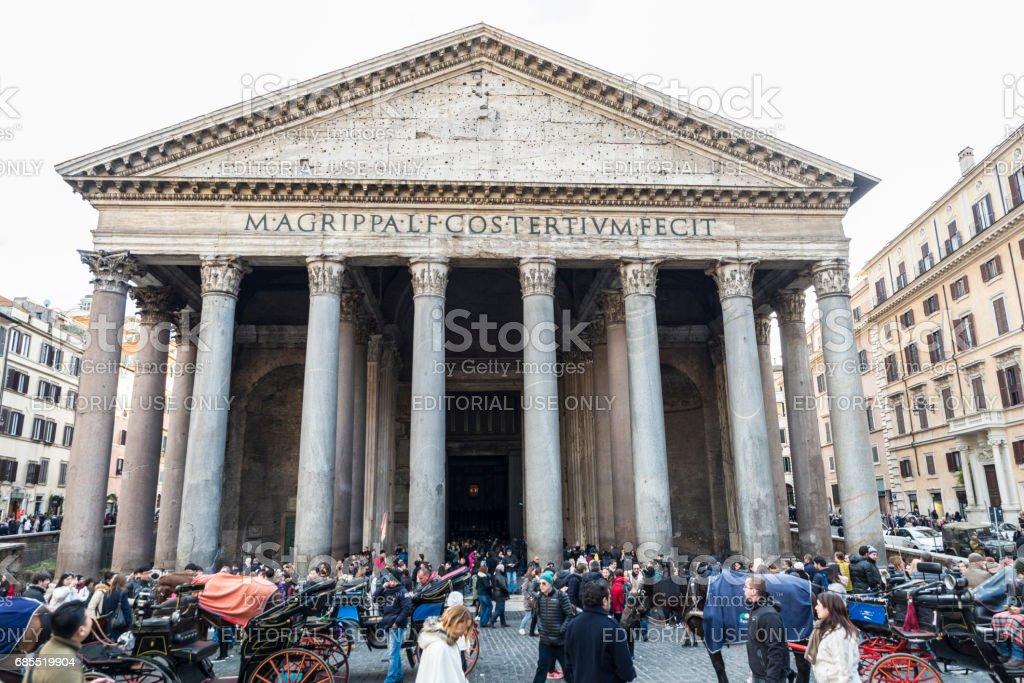 Parthenon in Rome, Italy stock photo