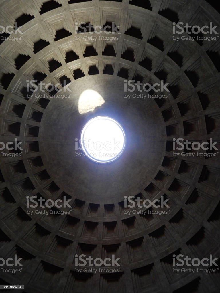 Parthenon Oculus stock photo