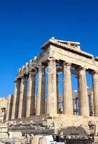 istock Parthenon on the Acropolis, Athens, Greece 522204165