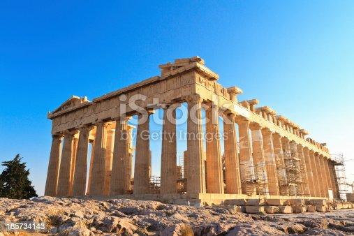 istock Parthenon on the Acropolis in Athens, Greece 185734143