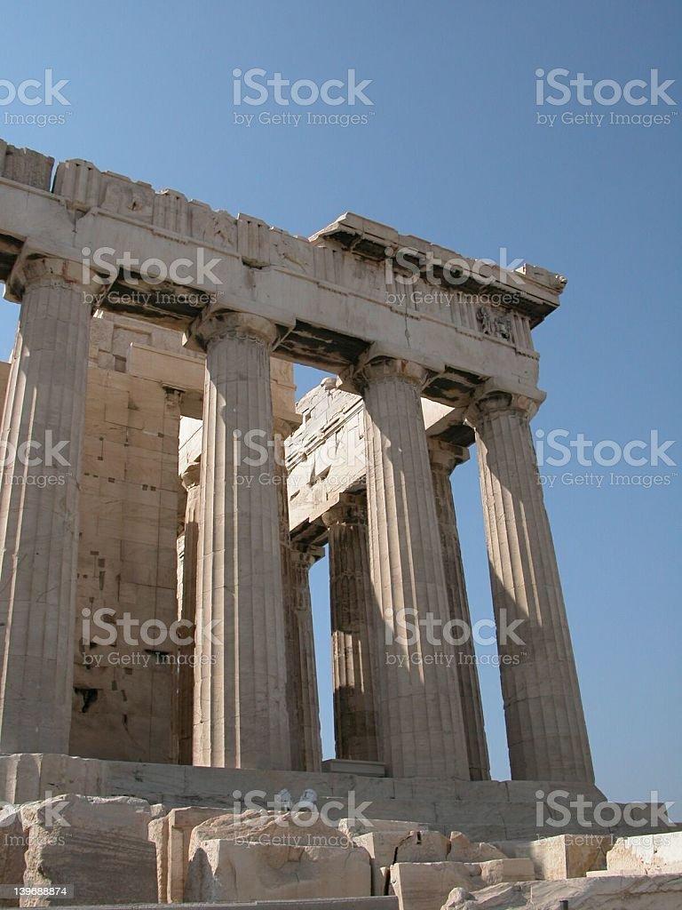 Parthenon2 royalty-free stock photo