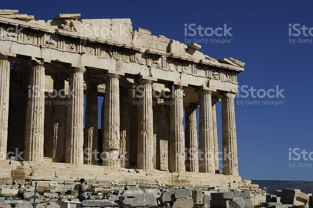 Parthenons royalty-free stock photo
