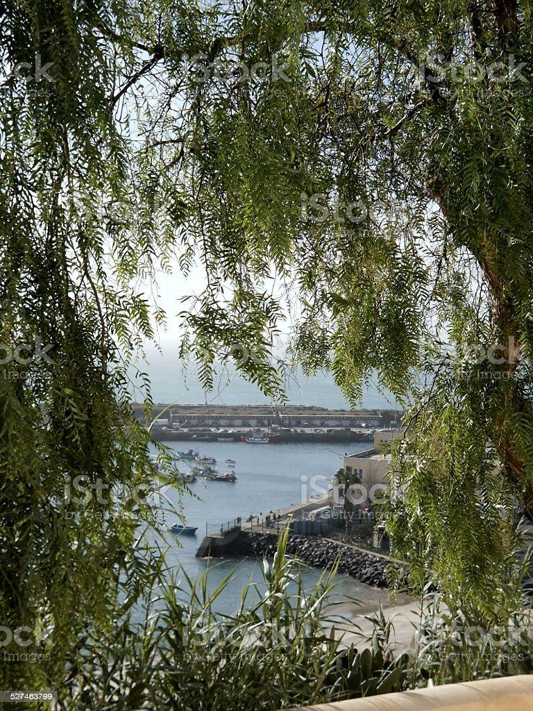Partial Dock of Sines stok fotoğrafı