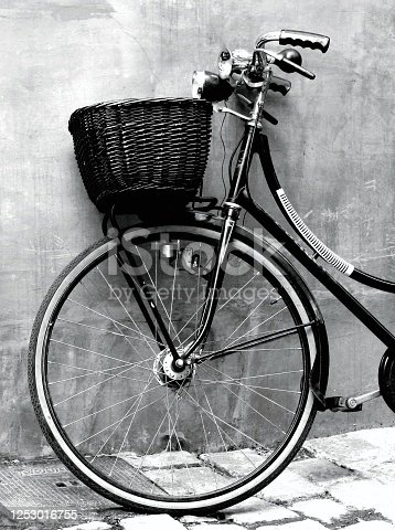 Classic style image, but very modern. Useful in concepts such as alternative lifestyle without producing pollution. Sustainable transport with the environment. Or as a background image for blogs and websites.