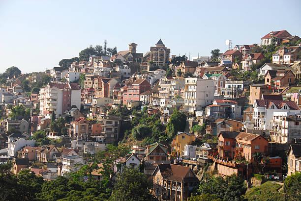 Partial view of Antananarivo II stock photo