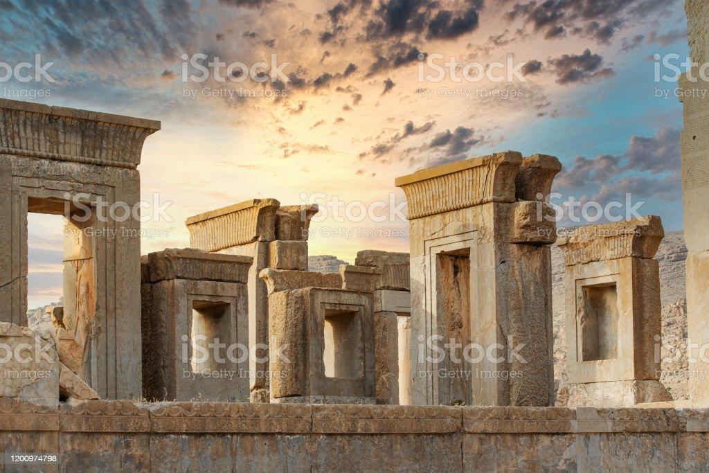 Partial View Of The Persepolis Ruins Iran Stock Photo Download Image Now Istock