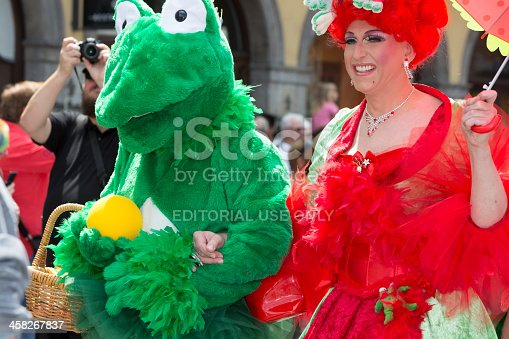 istock Participants of Christopher Street Day, Munich, Germany 458267837