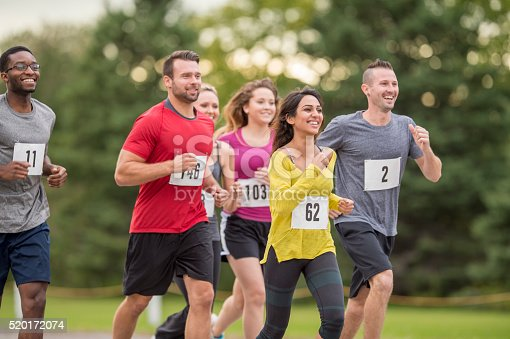 istock Participating in a 5K 520172074