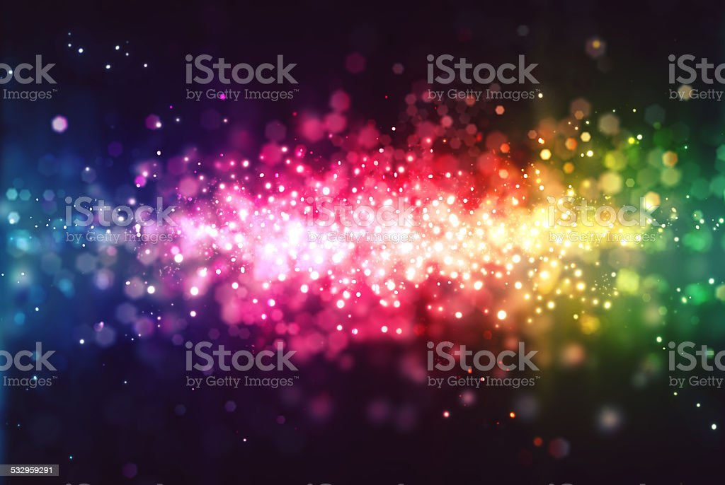 Particle background stock photo